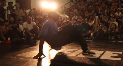 IBE 2013 - Focus on Footwork Battle Quarter Final - Manny vs Just Roc