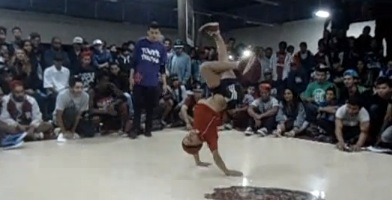 BBOY SONEK VS BBOY SUEL FINAL POWER MOVE BREAK COMBATE 2014