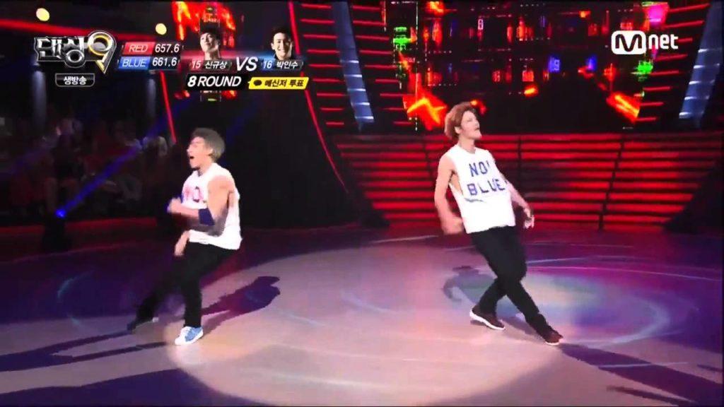 【新旧世代の競演】Bboy Kill vs Bboy Bruce lee showcase on TV show